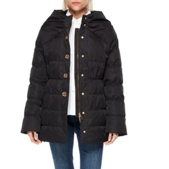 2ee01cfaf Kate Spade New York Becky Puffer Coat Jacket Black NWT